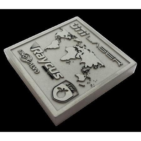 Глубокая гравировка алюминия