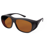 Очки/Protective glasses/Защита зрения оператора/Защита в диапазоне 1064нМ/Специальный чехол/Салфетка для ухода за стеклами